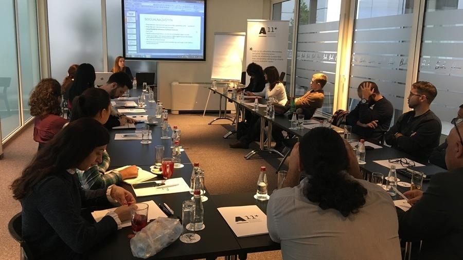 Održan trening – Ekonomska i socijalna prava kao mehanizam lokalne integracije interno raseljenih lica