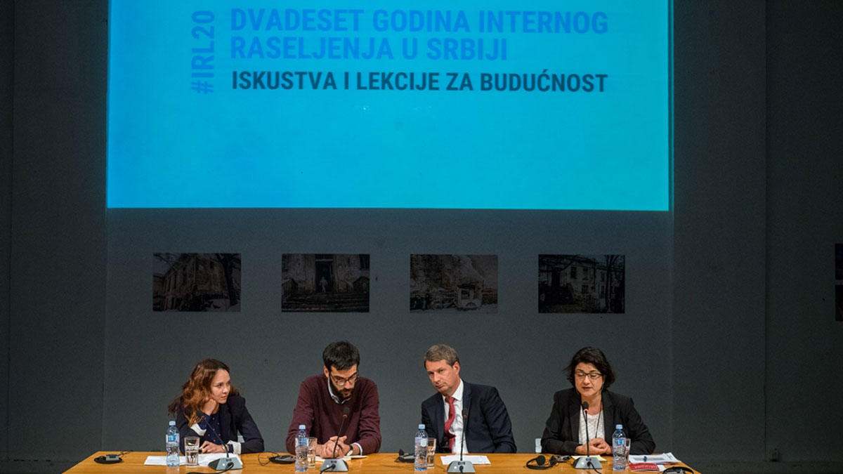 "A11 Initiative for Economic and Social Rights has organized a Conference ""20 Years of Internal Displacement in Serbia – Experiences and Lessons for the Future"" #IRL20"